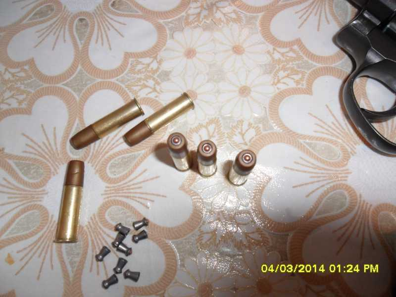 2)переделка фальш патронов.