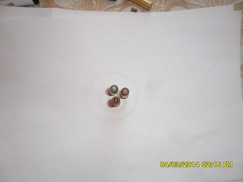 4)переделка фальш патронов.