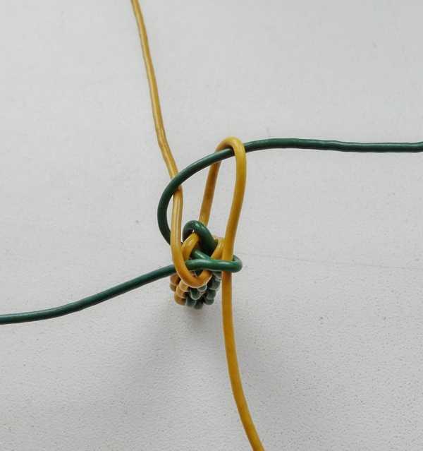 7)Некоторые особенности плетения темляков.