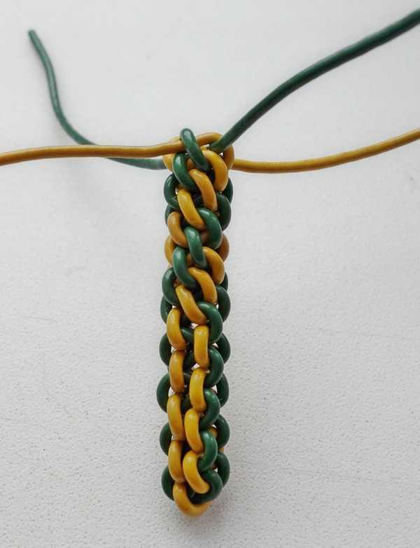 8)Некоторые особенности плетения темляков.