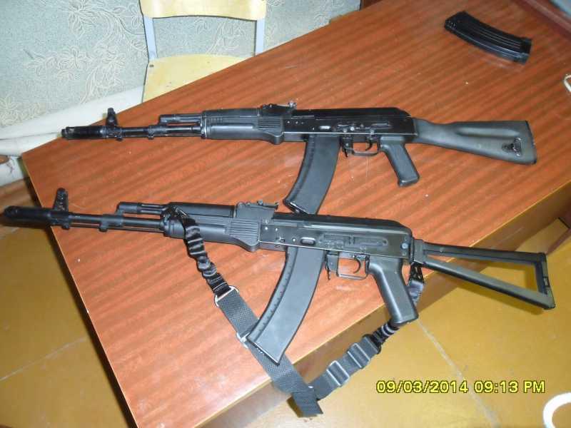 17)знакомство CM040 AKS-74M
