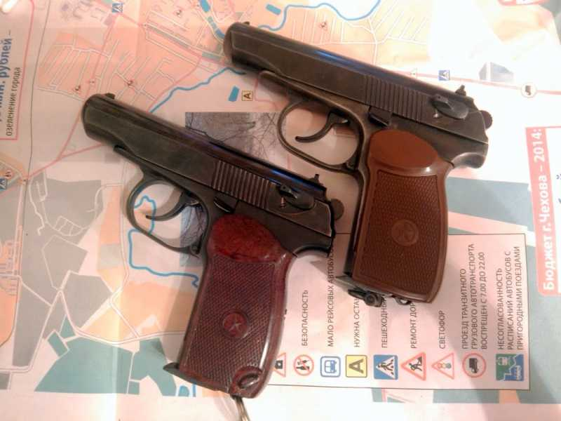 14)Внешний тюнинг пневматического пистолета МР-654К (МР-654К UPGRADE - external improvement)