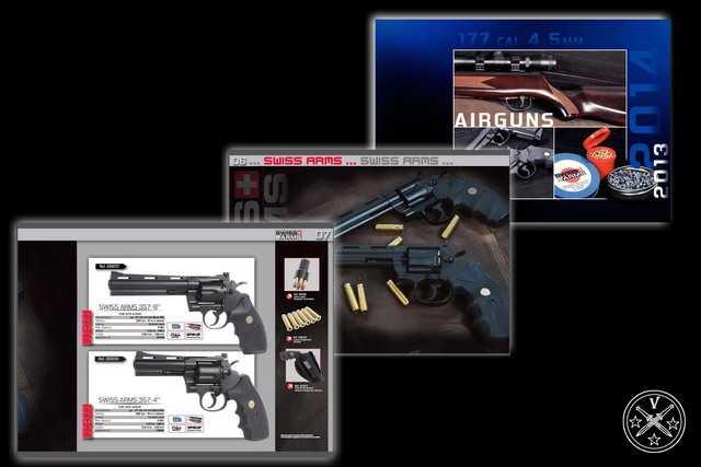 Новые пневматические револьверы на сайте Cybergun