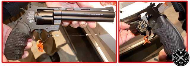 Протип пневматического револьвера Colt Python от Umarex на Stot Show 2014