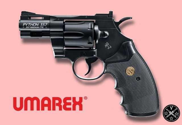 2,5 дюймовый пневматический пистолет Colt Python