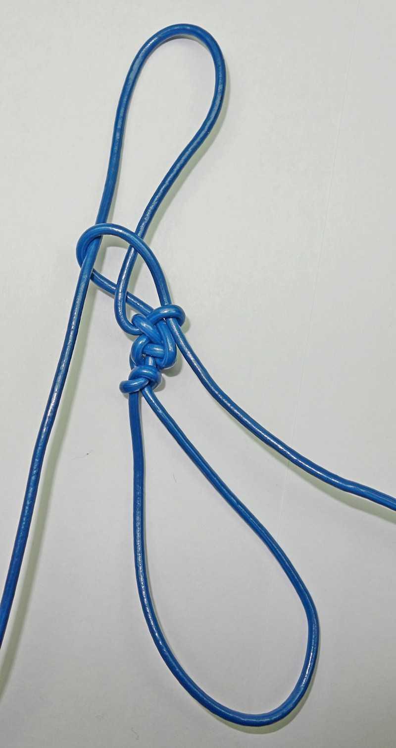 19)Некоторые особенности плетения темляков.