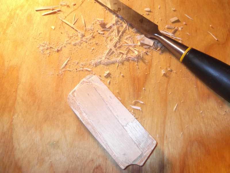 6)Щечка рукояти для Gletcher TT