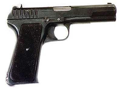 2)варианты пистолета ТТ