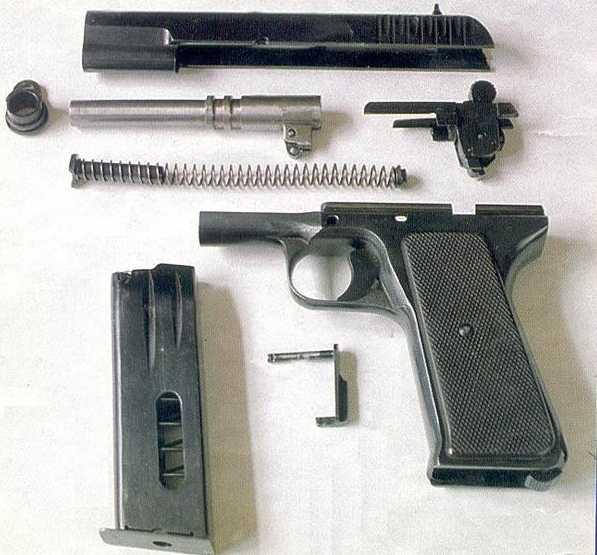 3)варианты пистолета ТТ