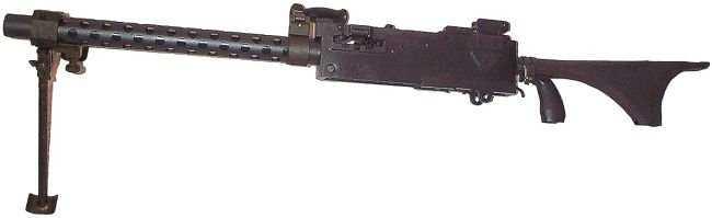 6)дальние родственники. Первые ручные пулеметы