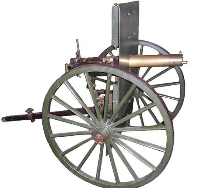 1)дальние родственники. Первые ручные пулеметы