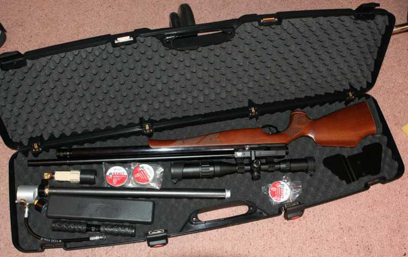 5)Кейс для Air Arms S-510 EXTRA SL