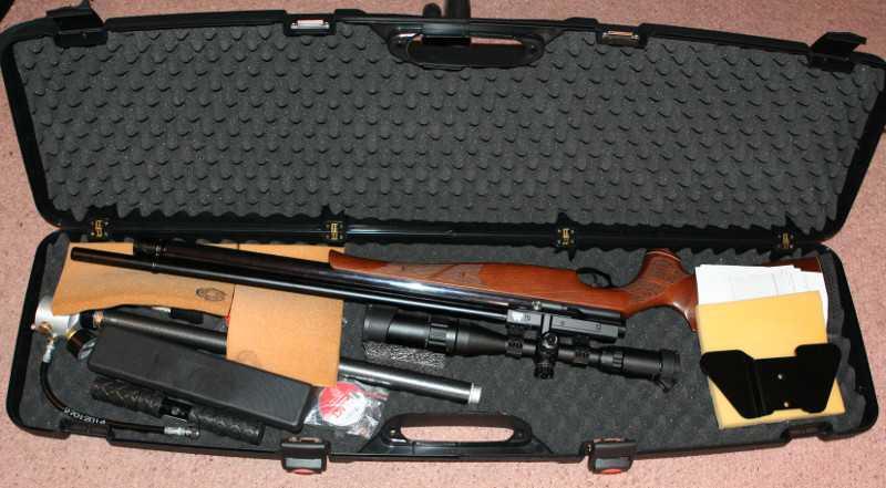 6)Кейс для Air Arms S-510 EXTRA SL
