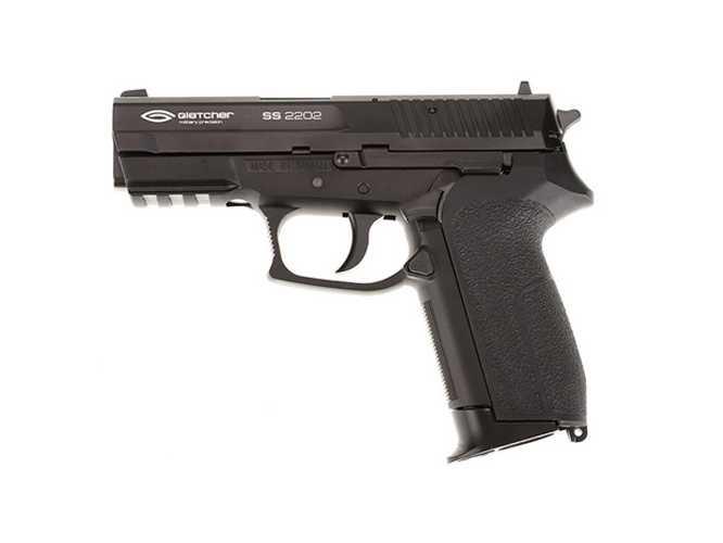 1)Обзор на Пневматический пистолет Gletcher SS 2202 металл