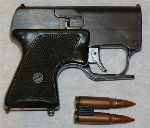 1)ЛИКВИДАТОР (пистолет гроза)