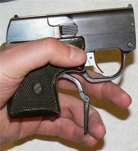 4)ЛИКВИДАТОР (пистолет гроза)