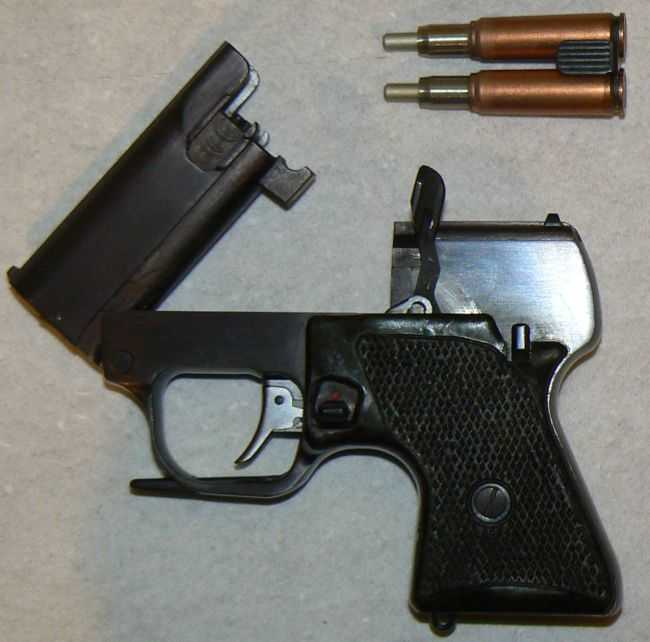 6)ЛИКВИДАТОР (пистолет гроза)