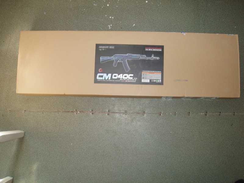 1)CYMA CM040C (АК-74М)
