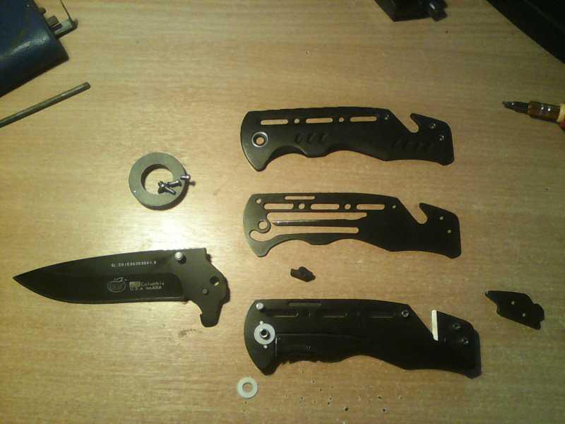 4)Китайский складной нож