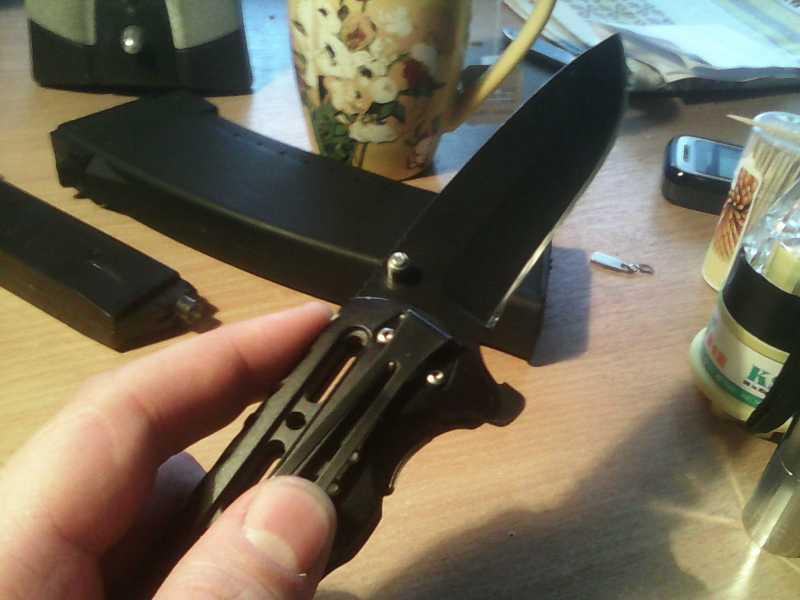 8)Китайский складной нож