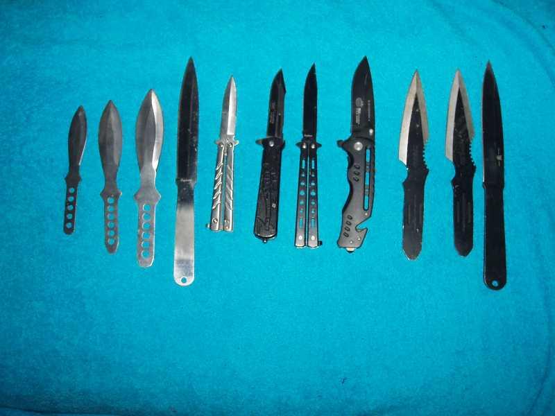 9)Китайский складной нож