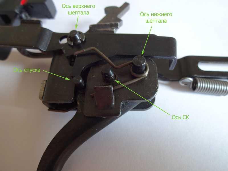 3)Спусковой механизм Hatsan Striker 1000S, или так ли страшен черт, как его малюют.