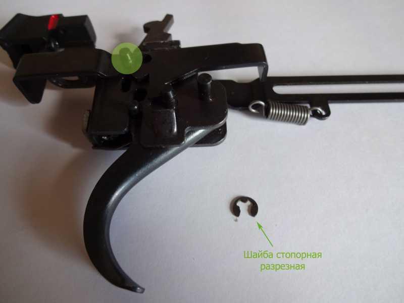 6)Спусковой механизм Hatsan Striker 1000S, или так ли страшен черт, как его малюют.
