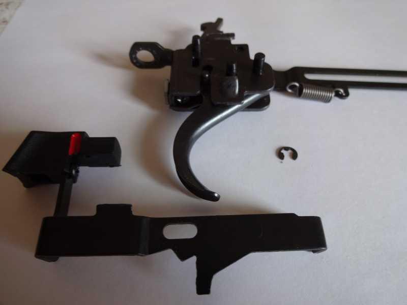 7)Спусковой механизм Hatsan Striker 1000S, или так ли страшен черт, как его малюют.