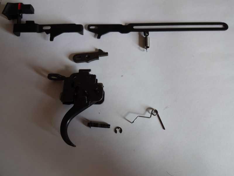 8)Спусковой механизм Hatsan Striker 1000S, или так ли страшен черт, как его малюют.