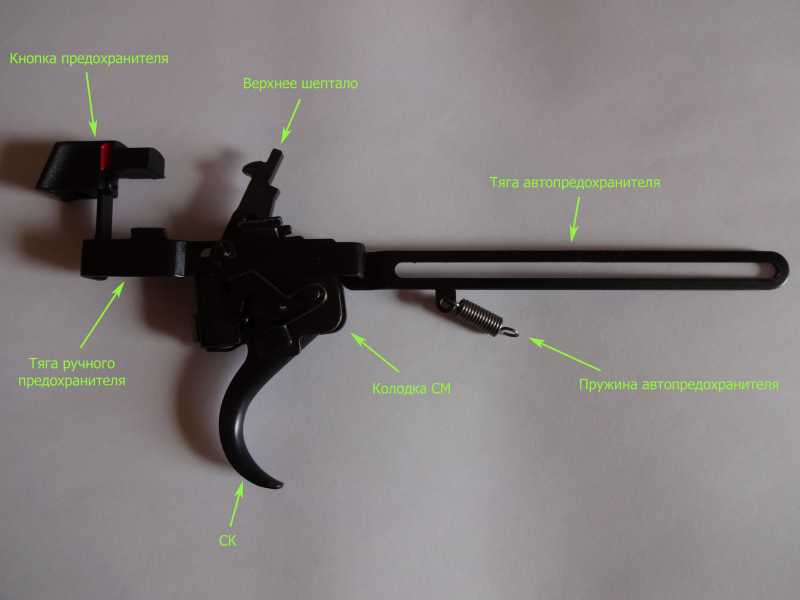 2)Спусковой механизм Hatsan Striker 1000S, или так ли страшен черт, как его малюют.