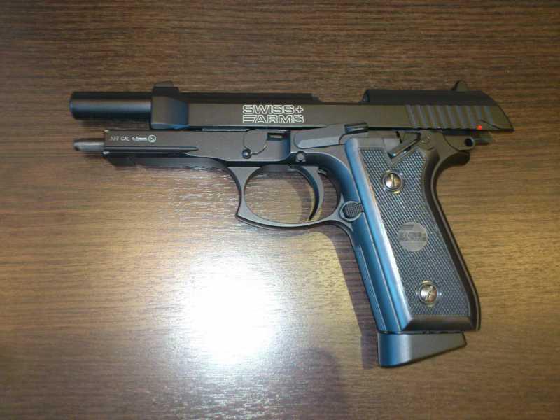 4)Обзор пистолета Swiss Arms P 92