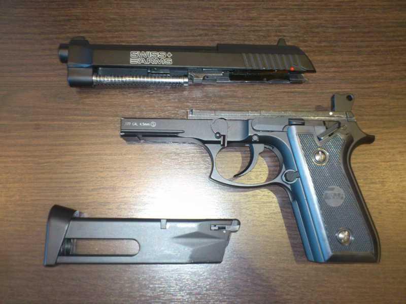 5)Обзор пистолета Swiss Arms P 92
