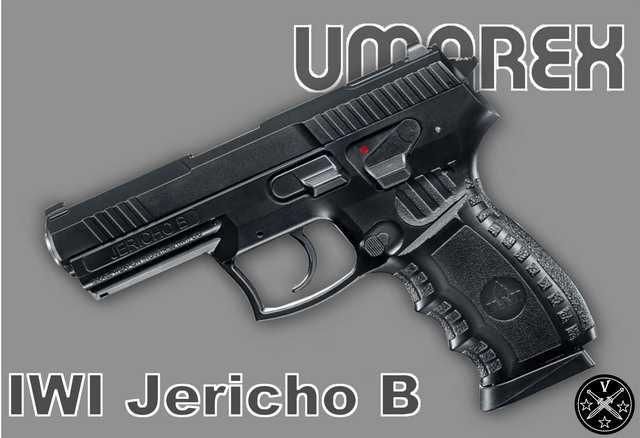 Пневматический пистолет IWI Jericho B компании Umarex