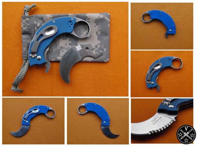 Комплект поставки ножа К-635