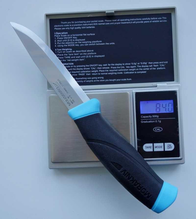 8)Мини-обзор ножа от
