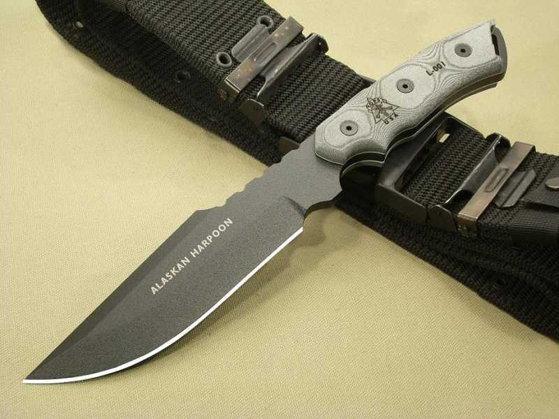 1)Tops Knives ALASKAN HARPOON