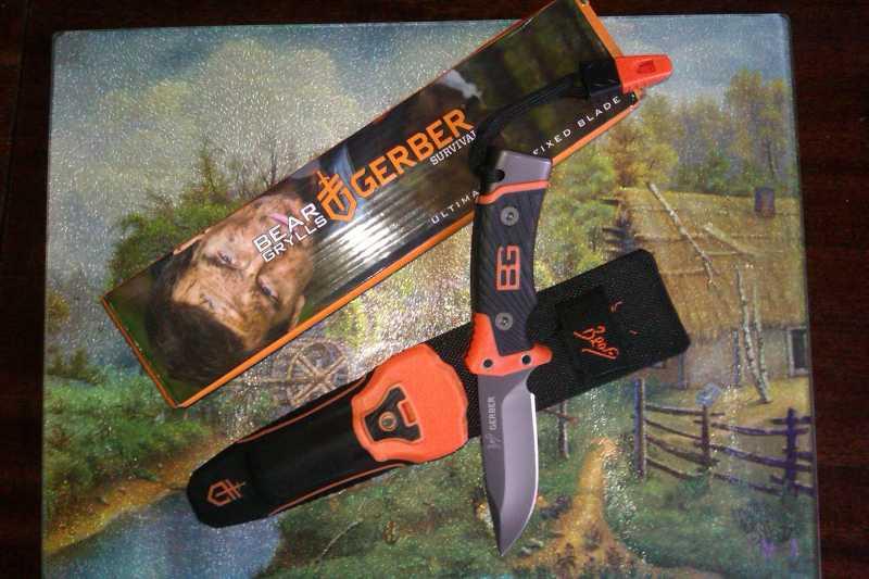 1)Обзор новой модели ножа от Беара Грилса