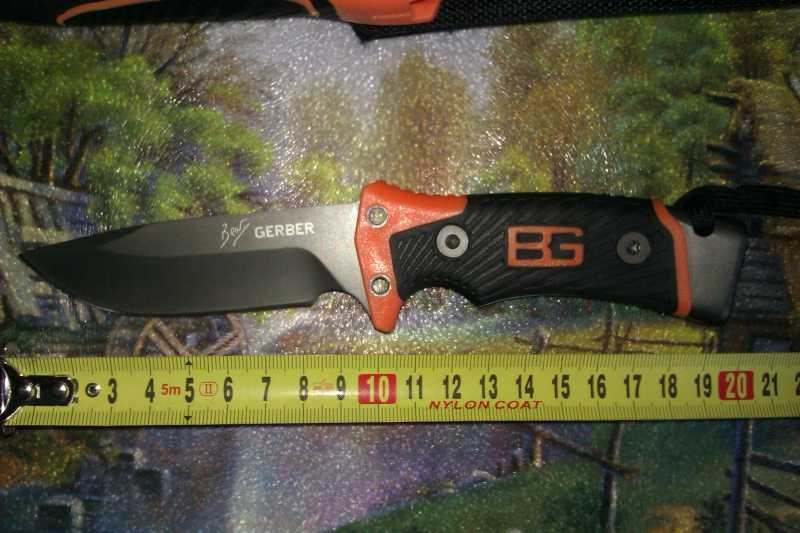 2)Обзор новой модели ножа от Беара Грилса