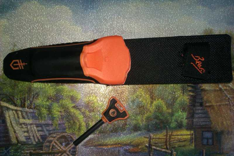 5)Обзор новой модели ножа от Беара Грилса