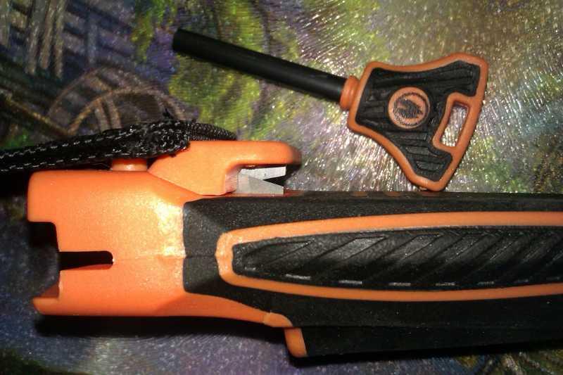 7)Обзор новой модели ножа от Беара Грилса