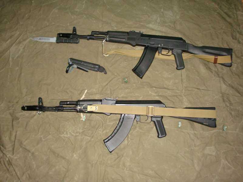 1)АК-74 и АК 103