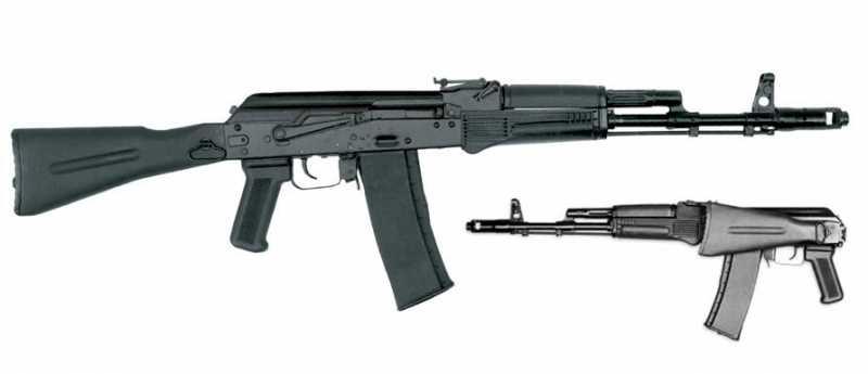 6)АК-74 и АК 103