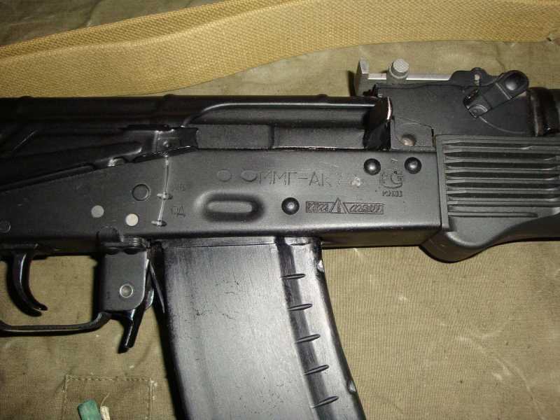 16)АК-74 и АК 103