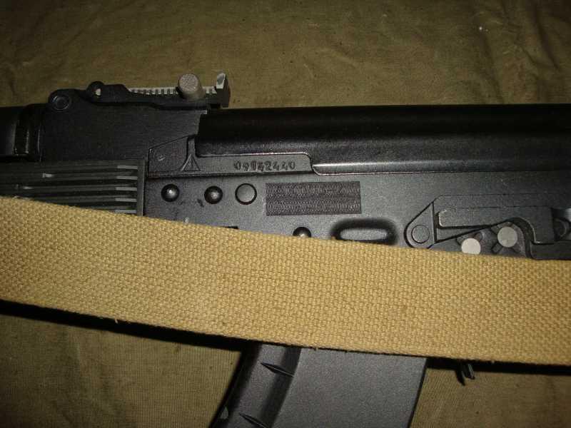 36)АК-74 и АК 103