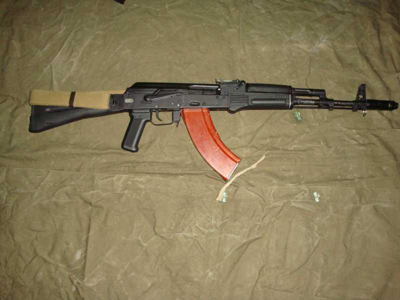 39)АК-74 и АК 103
