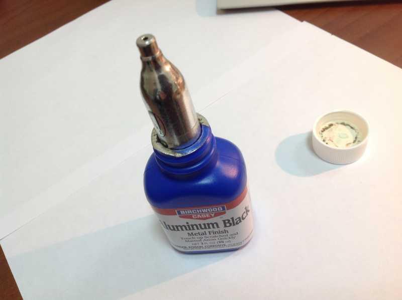 4)Бестемпературное воронение металла