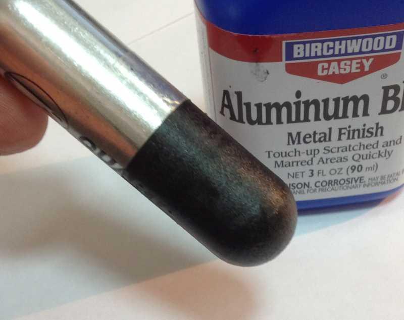 6)Бестемпературное воронение металла