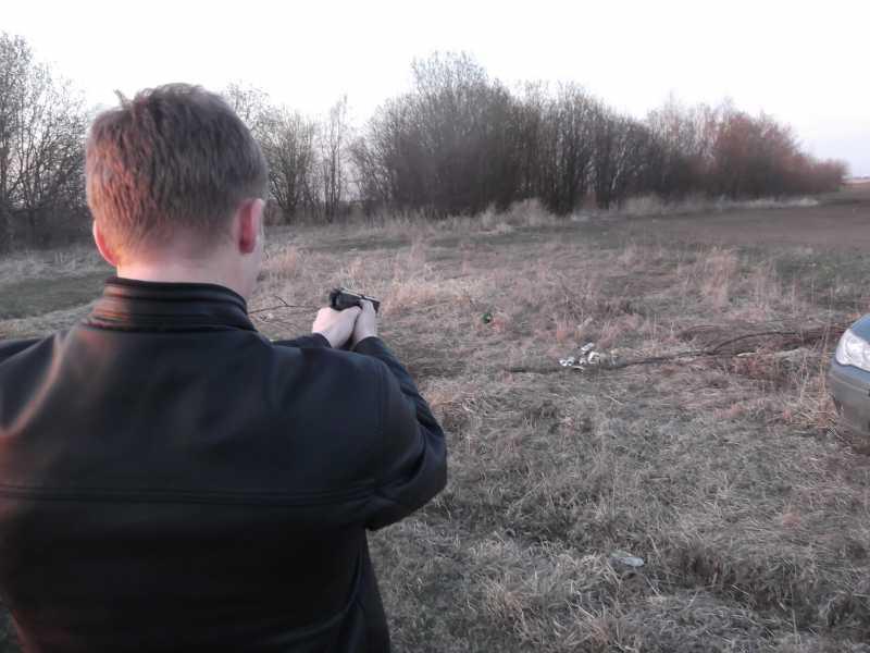 3)Сезон стрельб открыт