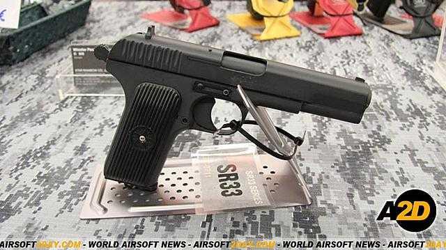 1)Обзор пистолета ТТ-33 от компании SRC