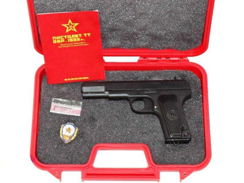 3)Обзор пистолета ТТ-33 от компании SRC